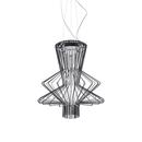 General lighting-Pendant lights in aluminium-Suspended lights-Allegro Ritmico suspension-Foscarini