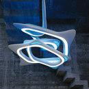 Allgemeinbeleuchtung-Lichtobjekte-Pendelleuchten-VORTEXX  - Chandelier-Zumtobel Lighting