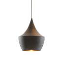 General lighting-Pendant lights in brass-Suspended lights-Beat Fat Black-Tom Dixon