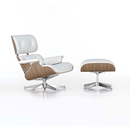 Armchairs-Lounge chairs with footstools-Seating-Lounge Chair & Ottoman-Vitra