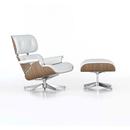 Sessel-Loungesessel mit Fusshocker-Sitzmöbel-Lounge Chair & Ottoman-Vitra