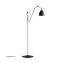 Allgemeinbeleuchtung-Leseleuchten-Standleuchten-Bestlite BL3 S Floor lamp | Black/Chrome-GUBI