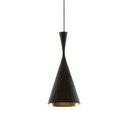 General lighting-Pendant lights in brass-Suspended lights-Beat Tall Black-Tom Dixon