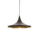 General lighting-Pendant lights in brass-Suspended lights-Beat Wide Black-Tom Dixon