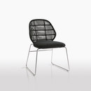 Garden chairs-Garden seating-Crinoline-B&B Italia