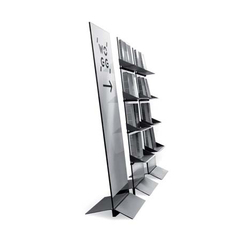WOGG TARO Self-Standing Shelf Unit | Brochure / Magazine display stands | WOGG