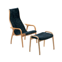 Lamino easy chair with footstool | Lounge chairs | Swedese