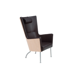 Solino easy chair high back | Fauteuils d'attente | Swedese