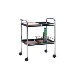 Supporter serving trolley | Trolleys | Materia