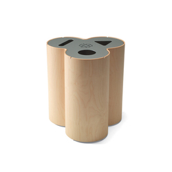 Trio recycling bin | Waste baskets | Materia