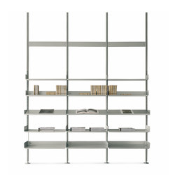 606 Universal Shelving System | Office shelving systems | De Padova