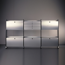 Uniregal | Office shelving systems | Atelier Alinea
