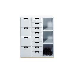 Snow Cabinet C | Schuhschränke / -regale | ASPLUND