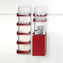 adeco wallstreet kitchen | Shelving | adeco