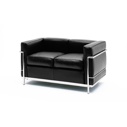 Lc2 maison la roche lounge chairs from cassina architonic - Canape lc2 le corbusier ...