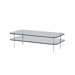 Sax Rectangular Coffee Table | Lounge tables | SCP