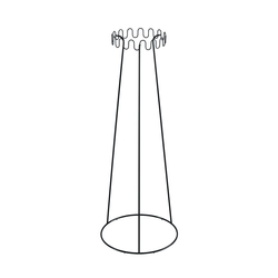 Crown coat stand | Standgarderoben | Desalto