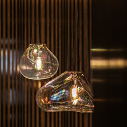 Bolla Suspension lamp | Suspended lights | FontanaArte