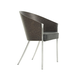 King Costes easychair erable grigio | Visitors chairs / Side chairs | Driade