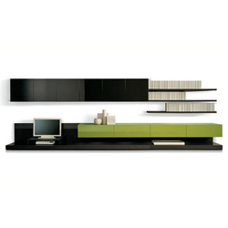 Sintesi system | Wall storage systems | Poliform