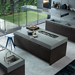 Minimal | Island kitchens | Varenna Poliform