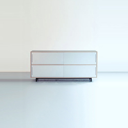 Sideboard h83 | Office shelving systems | Oswald