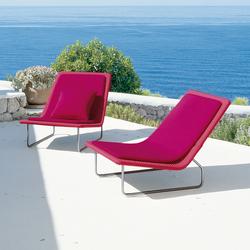 Sand | Garden armchairs | Paola Lenti