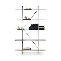 Carlotta Bookshelves | Shelving systems | Flexform