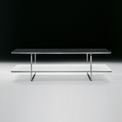 Carlotta small table rectangular | Lounge tables | Flexform