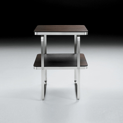 Carlotta small table square | Mesillas de noche | Flexform