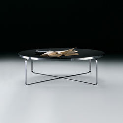 Carlotta low table round | Mesas de centro | Flexform