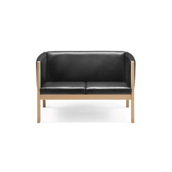 GE 285 2-seater Couch | Canapés d'attente | Getama Danmark