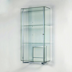 Visibile Vertical Standing | Vitrines | Alinea Design Objects