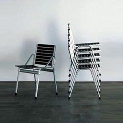 Elox stacking chair | Sillas multiusos | Lehni