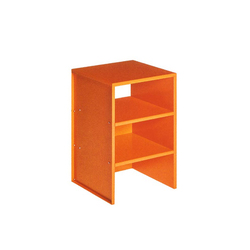 Judd No.4 table | Mesas auxiliares | Donald Judd by Lehni