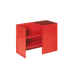 Judd No.9 tablebench | Upholstered benches | Donald Judd by Lehni