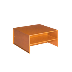 Judd No.12 table | Coffee tables | Donald Judd by Lehni