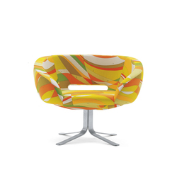 Rive Droite Drehsessel | Loungesessel | Cappellini