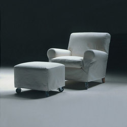 Nonnamaria armchair/footstool | Lounge chairs | Flexform