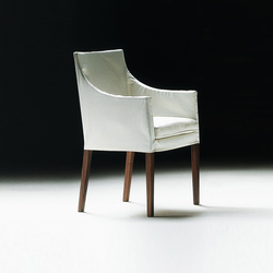Pat small armchair | Restaurant chairs | Flexform
