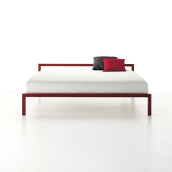 Aluminium Bed Laccato | Double beds | MDF Italia