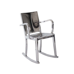Hudson Rocking chair with arms | Mecedoras | emeco