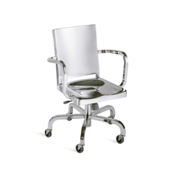 Hudson Swivel armchair | Office chairs | emeco