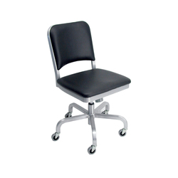Navy® Upholstered swivel chair | Task chairs | emeco