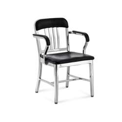 Navy® Semi-upholstered armchair | Chaises de restaurant | emeco