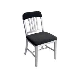 Navy® Semi-upholstered chair | Sillas para restaurantes | emeco