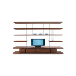 Piano Design Bookshelf | Wall storage systems | Riva 1920