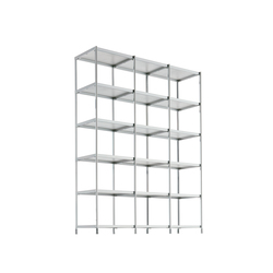 SEC bookshelf lib010 | Office shelving systems | Alias