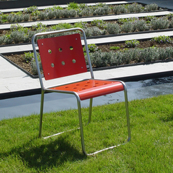 Stella Chair with sled base | Sièges de jardin | BURRI