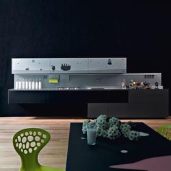 Artematica Vitrum Arte I Mucca Bianco e nero | Fitted kitchens | Valcucine